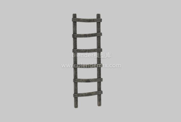 老旧木梯子