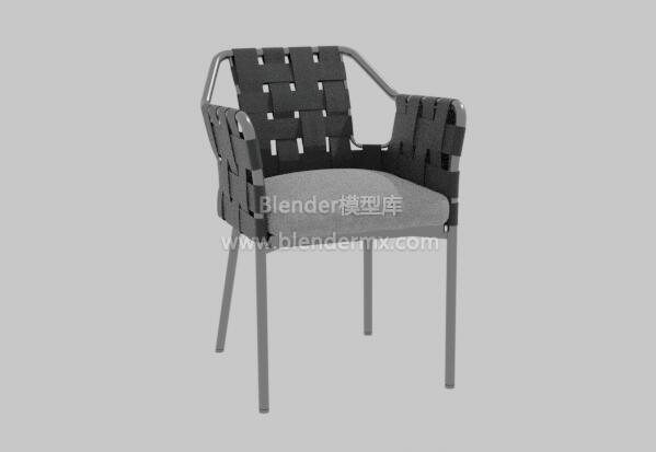 黑色Obi椅子