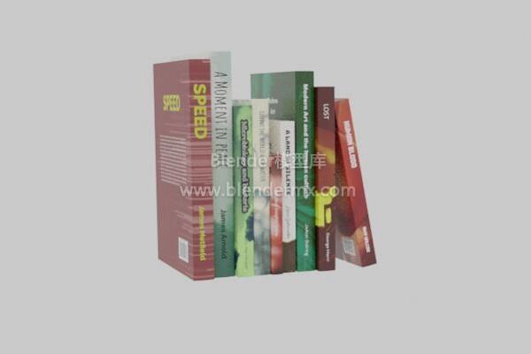 一叠竖排书籍小说